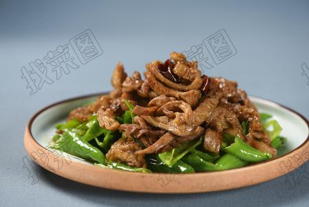 尖椒驴板肠 - 找菜图