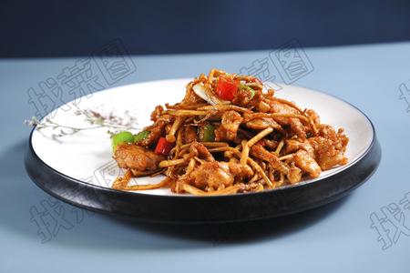 海鲜菇烧牛柳 - 找菜图