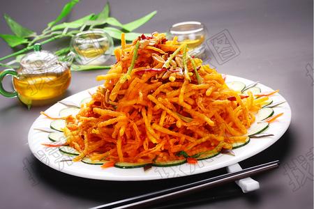 香辣金针土豆丝 - 找菜图