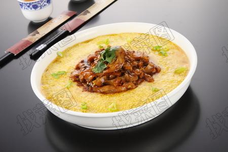黄米饭蒸肘花 - 找菜图