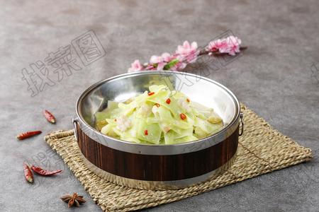 大盆莴笋片 - 找菜图