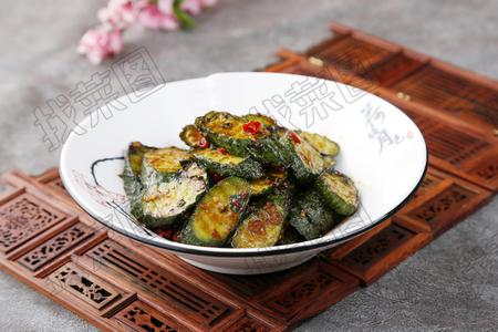 紫苏炒黄瓜 - 找菜图