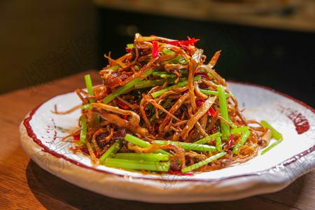辣味茶树菇 - 找菜图