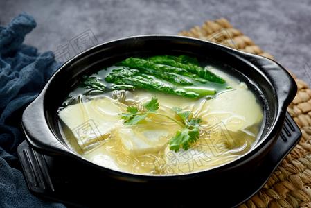 豆腐小白菜粉丝 - 找菜图