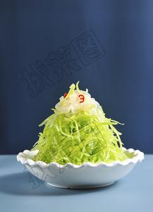 贡笋拌蛰皮 - 找菜图