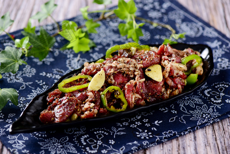 黑胡椒拌肉 - 找菜图