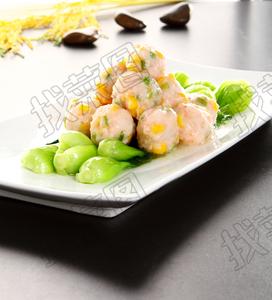 黄金翡翠虾丸 - 找菜图