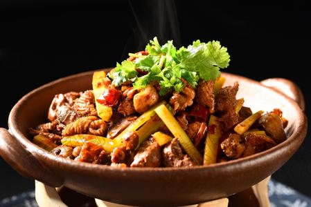 干锅鸡杂 - 找菜图