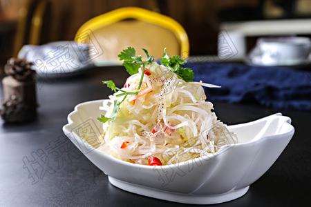 萝卜丝拌海蜇丝 - 找菜图