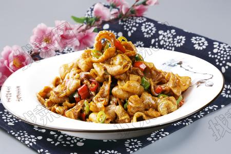 小米椒爆肥肠 - 找菜图