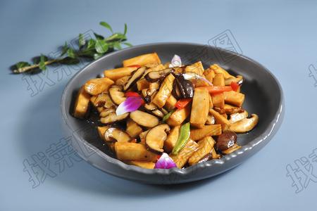 香菇千叶豆腐 - 找菜图