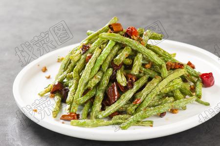 干煸四季豆 - 找菜图