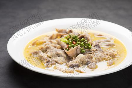 黄椒汤煮肥牛片78例 - 找菜图