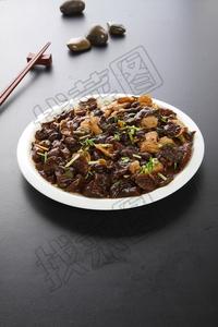 黄蘑炒肉 - 找菜图
