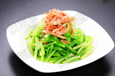 芹菜炝海米 - 找菜图
