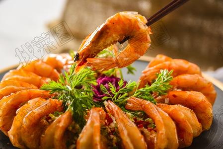 美极焗白虾 - 找菜图