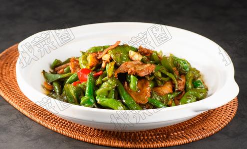 擂椒炒肉 - 找菜图