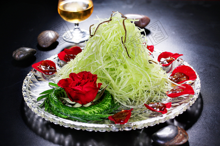 玫瑰青笋 - 找菜图