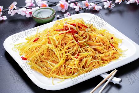 酸黄瓜土豆丝 - 找菜图