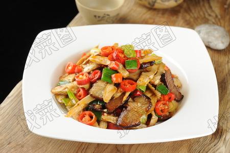脆笋炒腊肉 - 找菜图