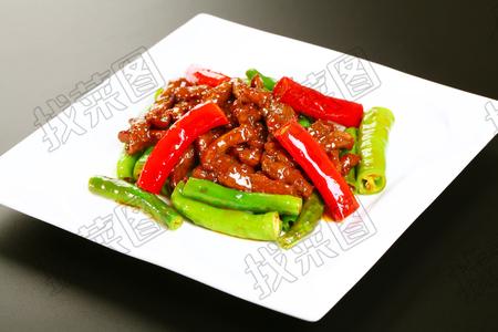 杭椒牛柳 - 找菜图
