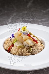 猴头菇拌贝丁 - 找菜图