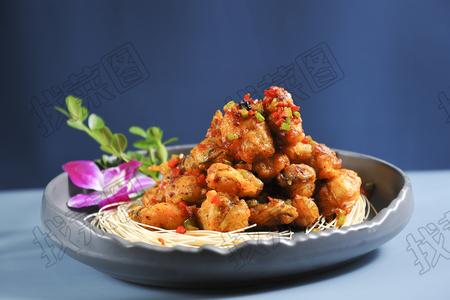炸烹海蛎子 - 找菜图