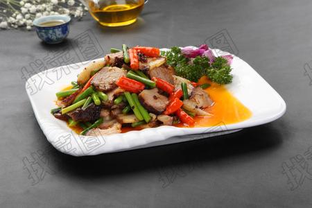 回锅腊肉 - 找菜图