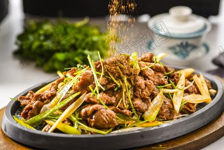 铁板葱椒羊肉 - 找菜图