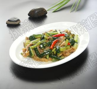 黄瓜小炒肚 - 找菜图