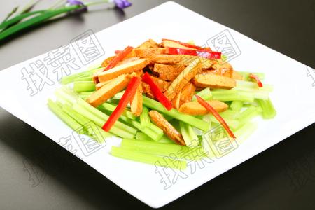 香煎炒鱼豆腐 - 找菜图
