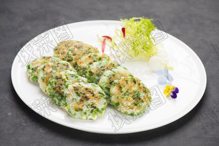 生煎韭香鱼饼 - 找菜图