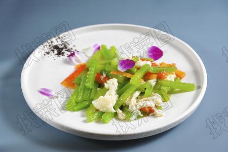 木瓜青笋蛋白 - 找菜图